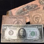 Paper money purchased